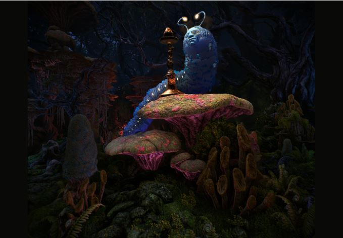 Alice in WOnderland things to do for couples